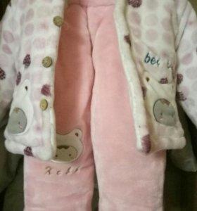 Детский костюм, осень, от 6-12 мес.
