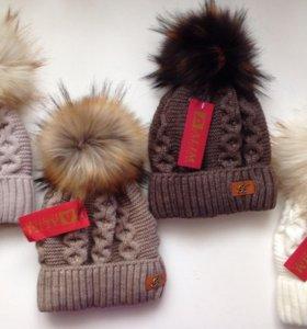 ❗️Ликвидация❗️Новые шикарные шапки на зиму