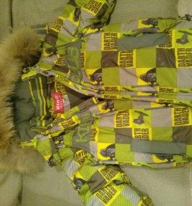 Куртка Kiko зимняя. Размер 104
