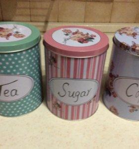 Емкость для сахара, кофе, чая