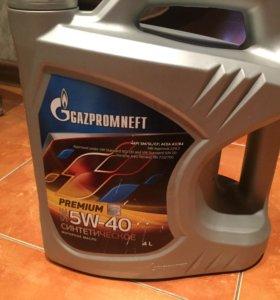 Масло моторное синтетическое premium 5w-40 - 4 л.