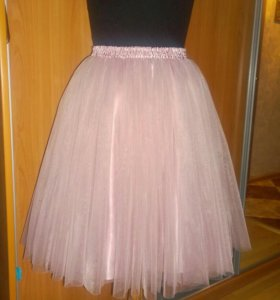 Новая.Фатиновая юбка (Юбка пачка).