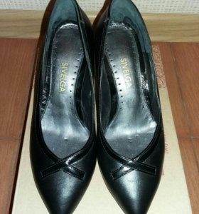 Туфли женские новые кожа натуральная!