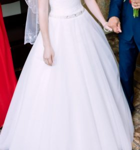 Милое, нежное свадебное платье