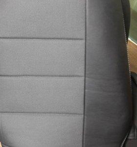 Чехлы на сидения в хендай солярис