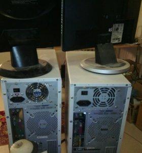 Компьютеры  под ремонт и рабочие .