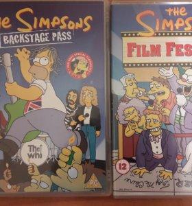 DVD The Simpsons на английском