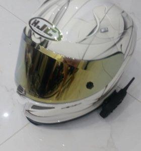 Шлем HJC rpha 10plus и перчатки