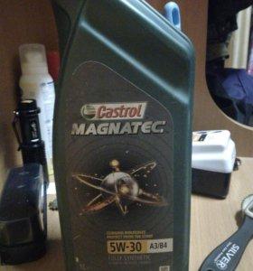 Моторное масло Castrol Magnetec 5w-30 A3/B4 1л.