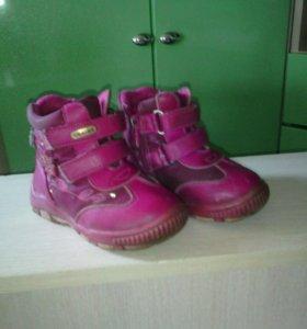 Ботинки на девочку весна-осень