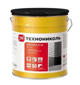 Мастика Гидроизоляционная ТехноНИКОЛЬ 24  20кг