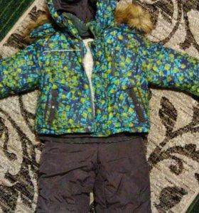 Зимняя куртка с брюками