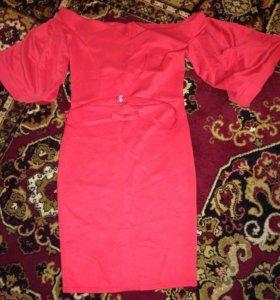 Оригинальное коктейльное платье (новое)