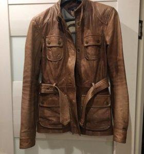 Женская кожаная куртка Tommy Hilfiger