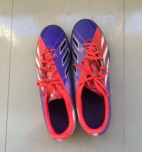 Бутсы (сороконожки) Adidas F10 traxion tf Messi