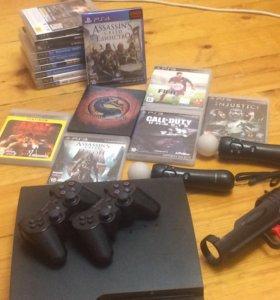 PlayStation3 с играми