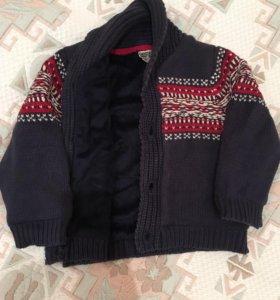 Утеплённый свитер