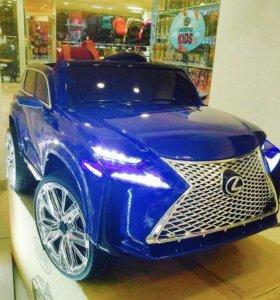 Электромобиль LEXUS LUX Резиновые колеса