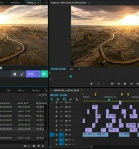 Видео монтаж быстро, качественно и креативно