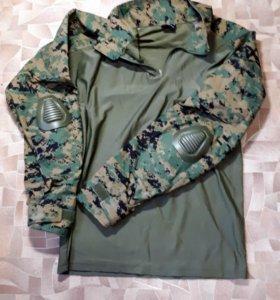 Рубашка под бронежилет Combat Shir, L, новаяt