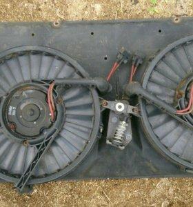 Блок вентиляторов фольксваген т 4