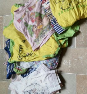 Пакет вещей на девочку от0 до 6 месяцев