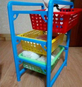 Этажерки для игрушек