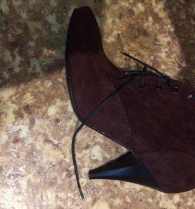 Ботинки новые fabi