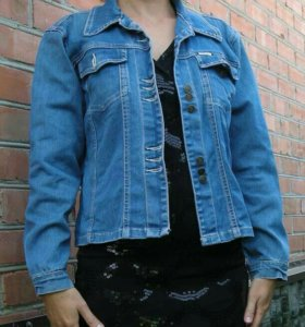 куртка джинсовая 46 размер