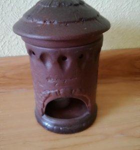 Аромалампа, свеча и аромапалочка