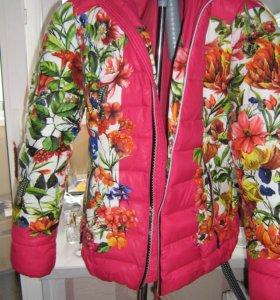 Новые куртки размеры от 40 до 48