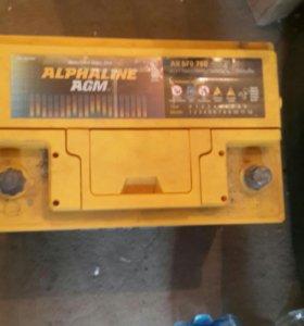 Аккумулятор Alphaline AGM 70A/H
