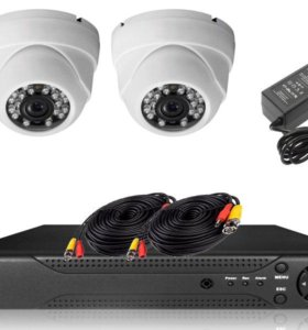 Комплекты видеонаблюдения SAT360
