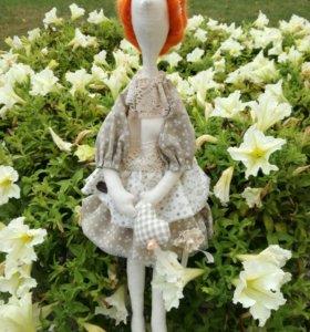Кукла в стиле Тильды