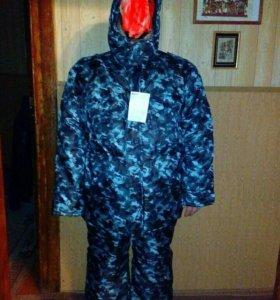 Новый зимний камуфляжный костюм 60-62р-ра