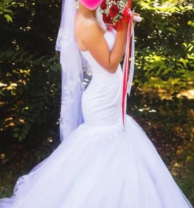 """свадебное платье """"Русалка"""""""