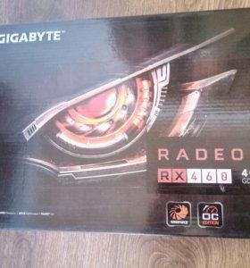 Видеокарта Radeon RX460, 4Gb