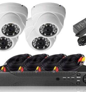 Комплект видеонаблюдения 2-мегапикселя