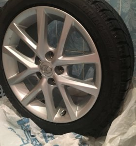 Колёса Диски Lexus + blizzak зимняя резина (4 шт)