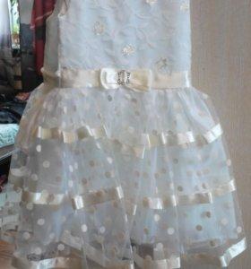 Платье для девочки 98