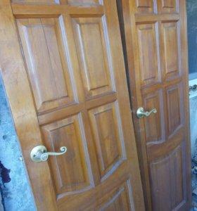Двери деревянные!
