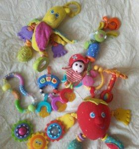 Игрушки (TINY LOVE и fisher price)