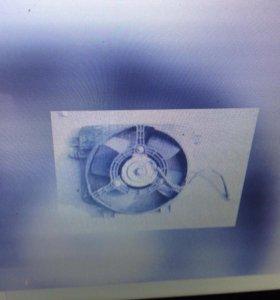 Вентилятор радиатора 2112 2111 2110 (ваз)