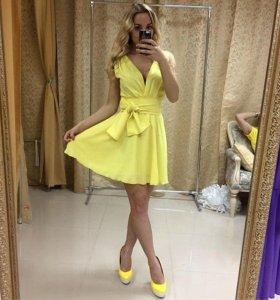Платье в шифоне