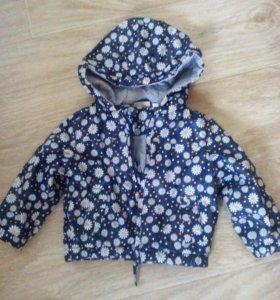 Курточка для девочки р.74