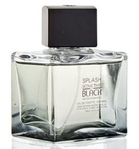 "Antonio Banderas ""Splash Seduction In Black"""