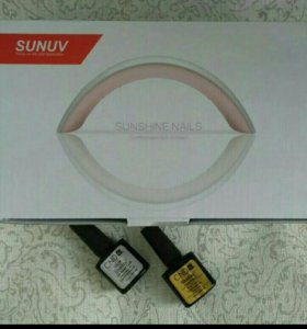 Новая led/uv лампа для маникюра