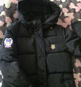 Удлиненная куртка(плащ)