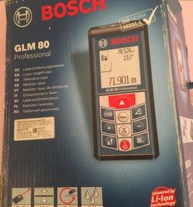 Лазерный длинномер-уклономерGLM80