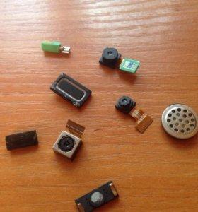 Кнопки камеры динамики